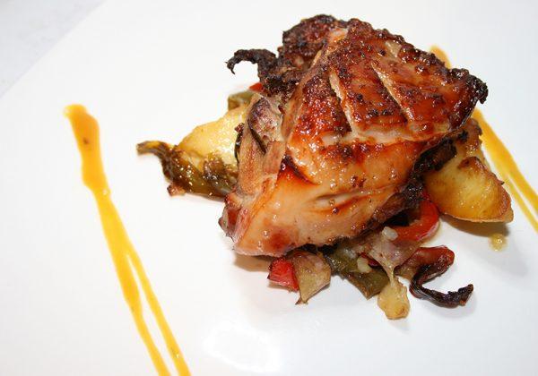 Cochinilllo al horno Restaurante El Cierzo
