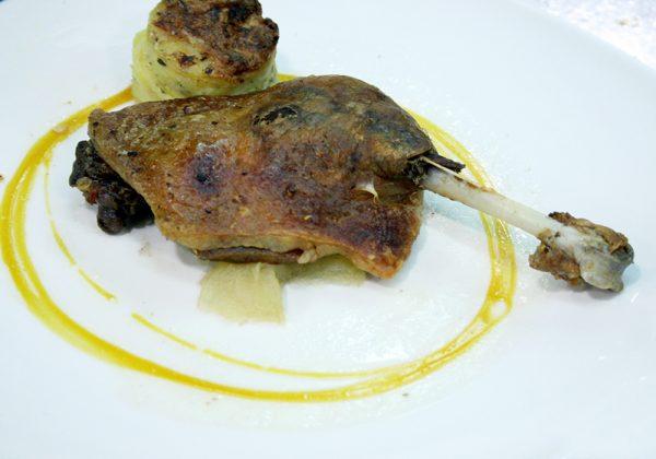 Confit de Pato Restaurante El Cierzo