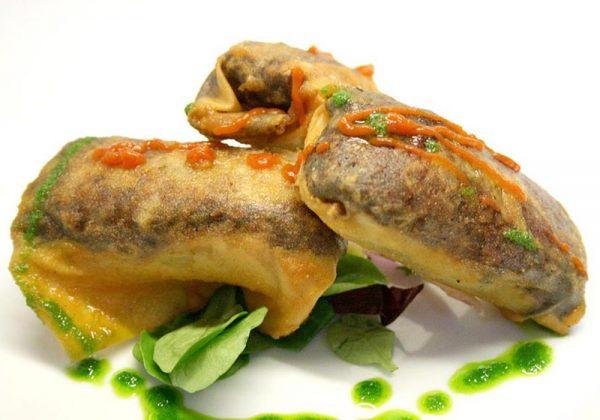 Crujiente mudejar Restaurante El Cierzo