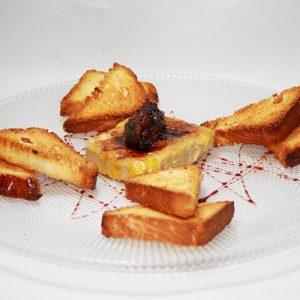 Foie mi cuit Restaurante El Cierzo