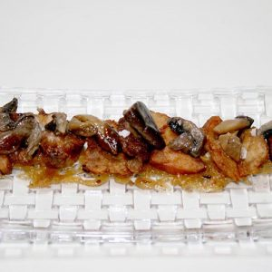 Mollejas corazón de vacuno Restaurante El Cierzo